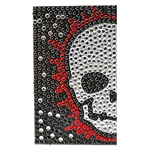 Buy Freaking Skull Pattern Jewelry Protective Body Sticker for Cellphone(Assorted Colors)