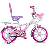 Hero Disney 14T Princess Junior Cycle With Carrier  9-inches (White)