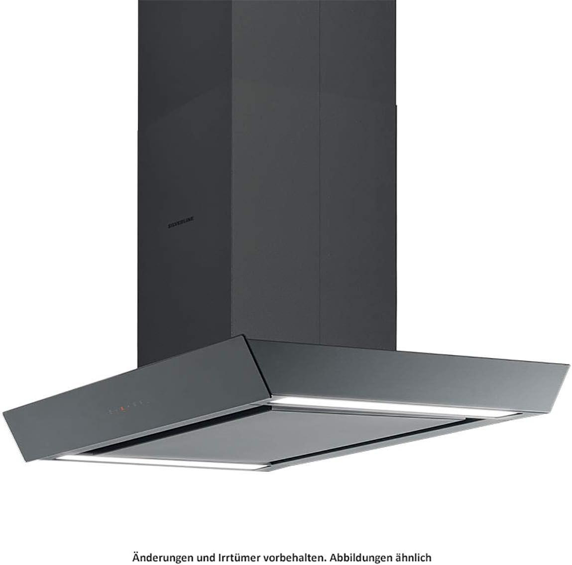 Silverline Vela Isola Premium VAI 120 S - Capota isla (cristal, 120 cm), color negro: Amazon.es: Grandes electrodomésticos