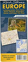 Rick Steves Europe Planning Map-As Shown