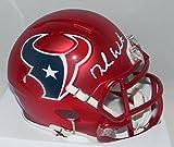Deshaun Watson Autographed Signed Houston Texans Rare Blaze Mini Helmet GTSM Watson Player Hologram