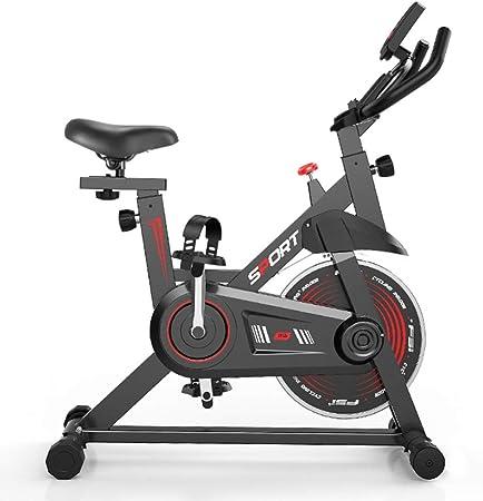 YQZX Bicicleta estática, Bicicleta de Spinning casera, Bicicleta para Adelgazar, Bicicleta de Ejercicios multifunción Ultra silenciosa para Interiores: Amazon.es: Hogar