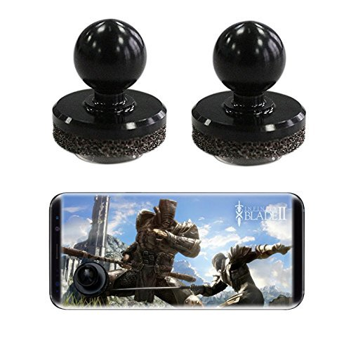 2 Pack | cell phone game controller, accessories, joystick Compatible with all Smartphones For Apple iPhone 6, 6s, 7, samsung galaxy s6, s7, s8 etc For Sale