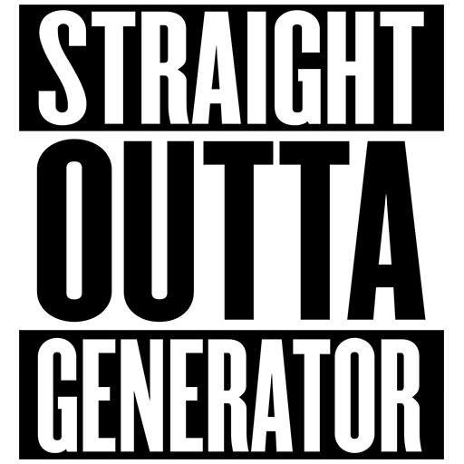 Straight Outta Generator: Amazon.es: Appstore para Android
