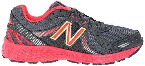 New Balance Mujer w450V3Zapatilla de Running Dark Grey/Red