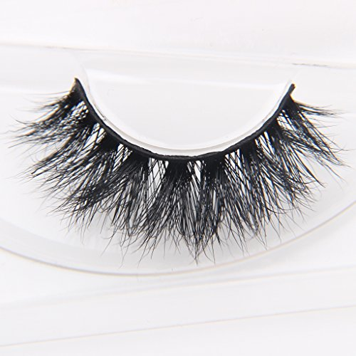 8b887634717 Arimika Handmade Long Thick Dramatic Looking 3D Mink Hair Fake Eyelashes 1  Pair Pack