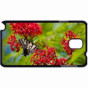 New Style Customized Back Cover Case For Samsung Galaxy Note 3 Hardshell Case, Back Cover Design Butterfly Personalized Unique Case For Samsung Note 3