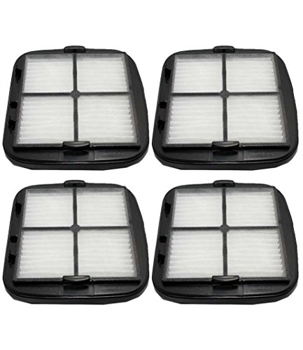 4 Replacement for Bissell HEPA Style Filter Fits Automate Hand-Vacs, Pet Hair & CleanView, Compatible With Part # 2037416 & 2031432, By Think Crucial