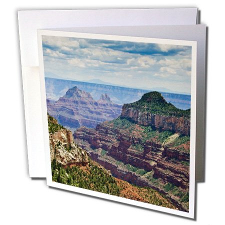 Canyon Greeting Cards - North Rim, Grand Canyon National Park - Mark Williford - Greeting Cards, 6 x 6 inches, set of 12 (gc_88036_2)