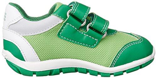 Geox B Shaax D, Botines de Senderismo para Bebés Verde (Greenc3000)