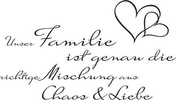 Grazdesign Wandtattoo Sprüche Zitate Unsere Familie Ist