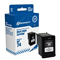 Dataproducts DPC74BK Remanufactured Ink Cartridge Replacement for HP #74 (CB335WN) (Black)