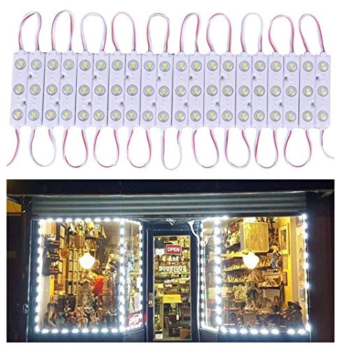 20 FT Store Window Light Kits 5730 3 Led Module Lights with AC Power Plug ON/Off Switch for Indoor/Outdoor Led Project - Beam Light Kit