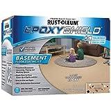 Rust-Oleum 203008 Basement Floor Kit, Tan