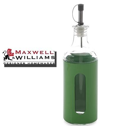 Verde lima Maxwell & Williams aceite vinagre 400 ml – dispensadores de botellas de cristal de