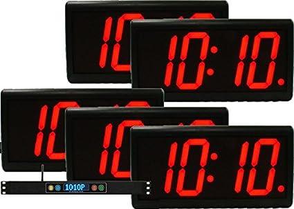 """duratime Basic 4.0 """"Digital LED reloj kit"""