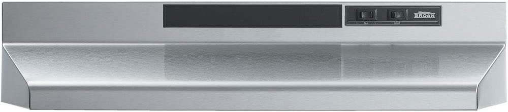 Broan-NuTone F404204 Range Hood, 42-Inch, Stainless Steel