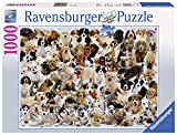 Ravensburger Dogs Galore - 1000 Piece Jigsaw Puzzle for Adults – Every Piece is Unique, Softclick Technology Means Pieces Fit Together Perfectly