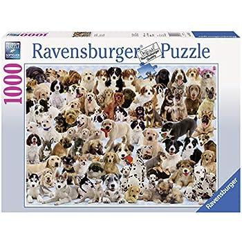 Amazon.com: Ravensburger Dogs Galore - 1000 Piece Jigsaw