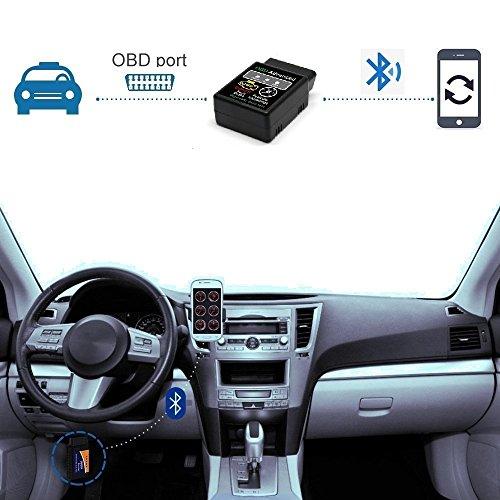 Golvery OBD ii auto code scanner, Bluetooth Car Diagnostic