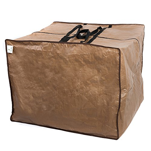 Abba Patio Outdoor Square Protective Zippered Patio Cushion Cover Storage Bag