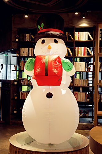 Lighted Snowman Outdoor Christmas Decoration - 3