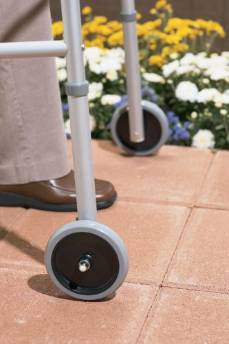 Medline G07722-8 Guardian Front Walker 5'' Wheel Attachment