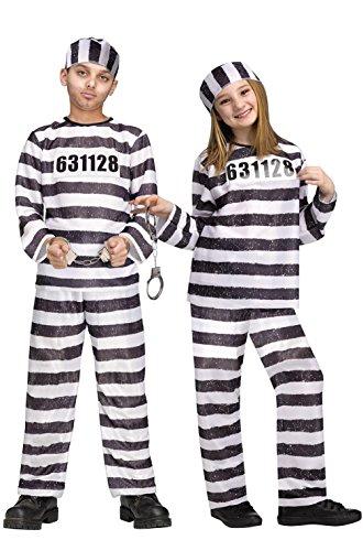 Jailbird Child Costume (Jailbird Plus Size Halloween Costume)