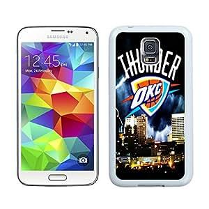100% brand new okc thunder White Samsung Galaxy S5 i9600 Case