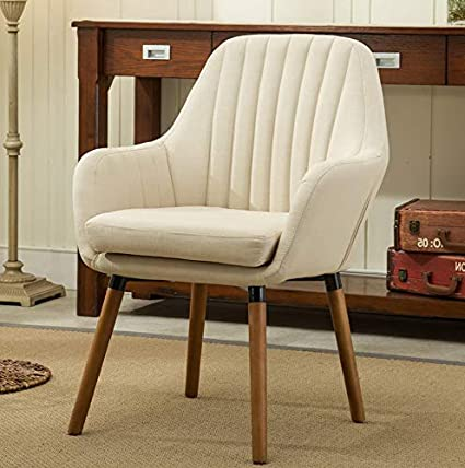Amazon.com: Hebel Tuchico Contemporary Fabric Accent Chair ...