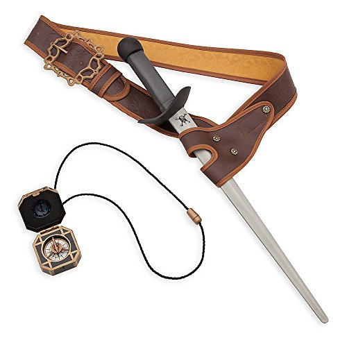 Pirates Of The Caribbean Sword (Disney Jack Sparrow Costume Accessory Set Pirates of the Caribbean: Dead Men Tell No Tales)