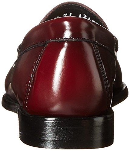 Co Læder 38 Cuero Zapatillas Talla Mujer Bas 38 Para Womens Bass Gh Sneakers Størrelse Rød Gh Color Co De Deporte Rojo xqRIBSZw