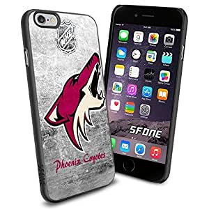 Arizona Coyotes NHL, WADE1373 Hockey iphone 5c inch Case Protection Black Rubber Cover Protector