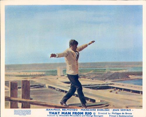 THAT MAN FROM RIO JEAN PAUL BELMONDO BALANCES HIGH CARD ()