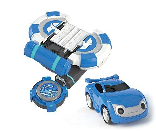 Watchcar Power Battle Bluewill car shooting gear launcher -