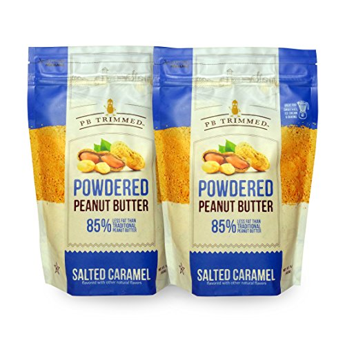 PB Trimmed Powder Peanut Butter 1 LB (2-Pack) Salted - Salted Butter