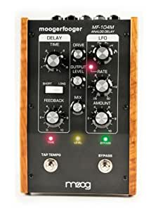 moog mf104m moogerfooger analog delay effects pedal black musical instruments. Black Bedroom Furniture Sets. Home Design Ideas
