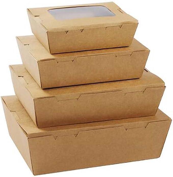 Black Temptation Caja de Sushi de Cajas de Papel Caja de Comida rápida de Cuadro de Bento Set de 8 (no el Mismo tamaño)#1: Amazon.es: Hogar