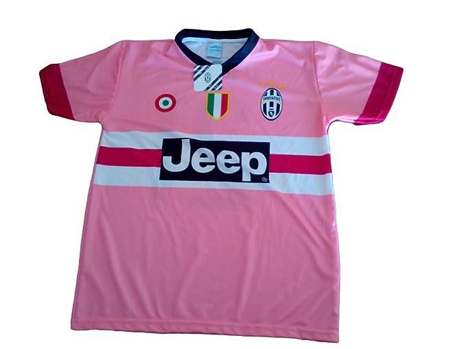 Juventus Juego de Camiseta de fútbol replica DYBALA los oficiales-Stickers rosa Talla:12 años: Amazon.es: Deportes y aire libre