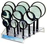 12pc Magnifier Display Loupes Retailers Magnify Glass Tool Set (NOTE: Base and magnifier handles may VARY in appearance and design than picture shown) -- Best Deal on Amazon!