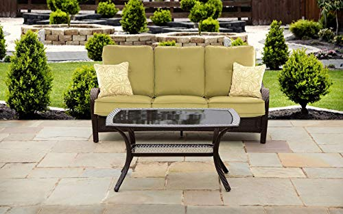 Hanover Orleans Patio Lounge Set (2-Piece) Green ORLEANS2PC