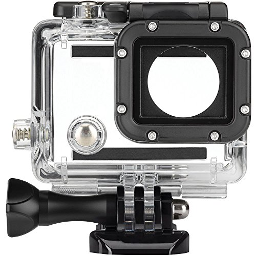 GoPro Replacement Dive Case Waterproof Housing for HERO4, HERO3+ and HERO3