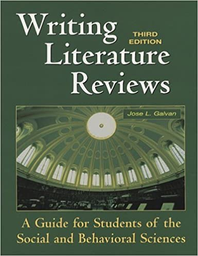 Amazon com  Writing Literature Reviews  A Guide for Students of     Understanding Research Methods  An Overview of the Essentials by Mildred L   Patten