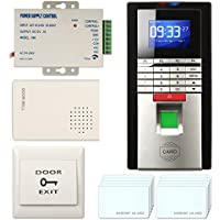 Realand Smart Time Attendance Recorder Clock Bio Fingerprint+ID+Password Package Silver