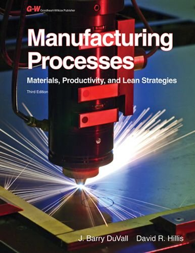 1605255696 - Manufacturing Processes: Materials, Productivity, and Lean Strategies