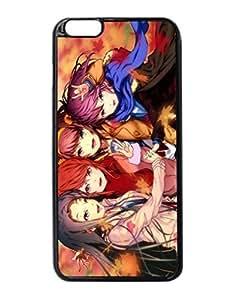 Art Girls Leaves Autumn Anime Durable Unique Design Hard Back Case Cover For iPhone 6 Plus - 5.5