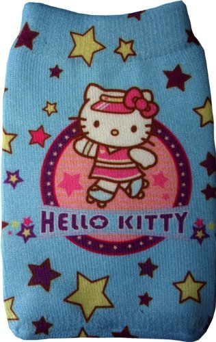 Powder Blue Hello Kitty Handysocke/MP3-Socke