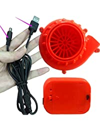 Mini Fan Blower for Inflatable Costumes NEW Power Bank USB Connection