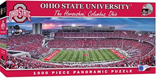 MasterPieces Collegiate Ohio State Buckeyes 1000 Piece Stadium Panoramic Jigsaw Puzzle ()