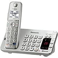 Panasonic KX-TGE270S Link2Cell Bluetooth Enabled Phone with Answering Machine Silver (Certified Refurbished)